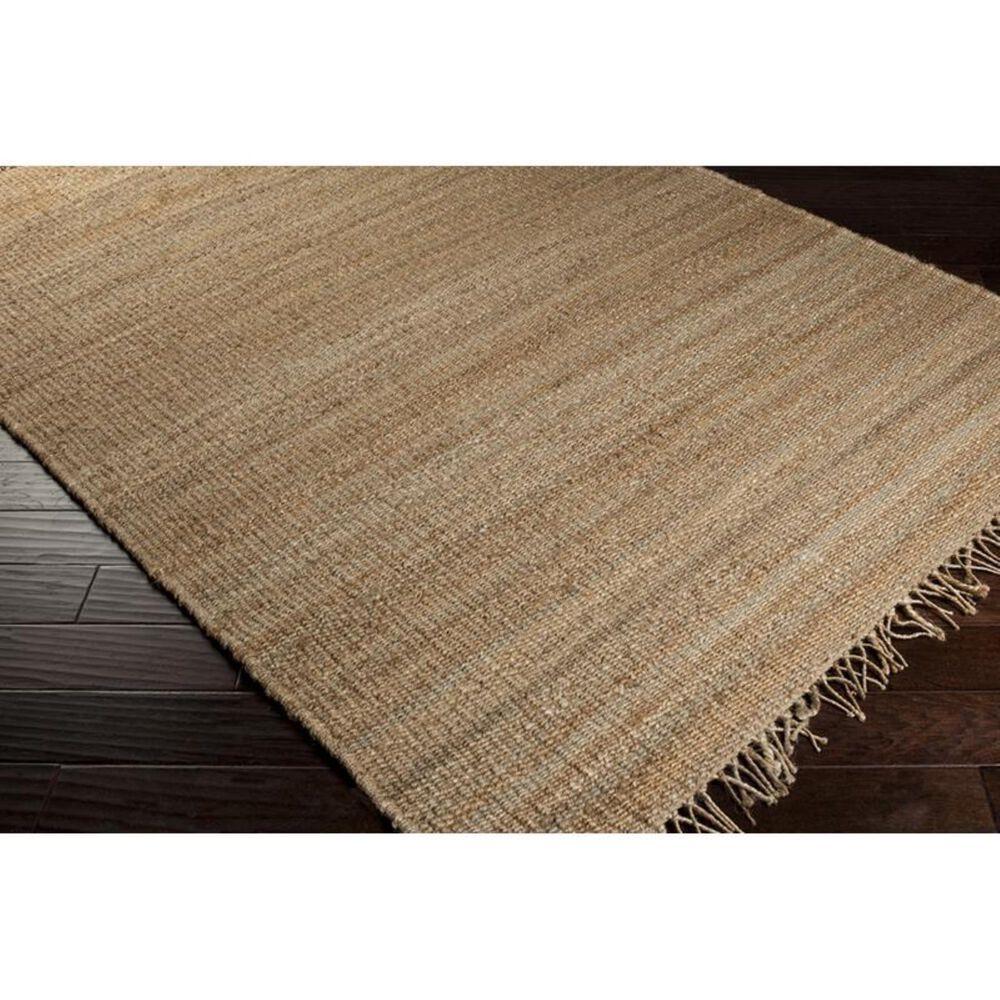 "Surya Jute Natural JUTE NATURAL 4' x 5'9"" Wheat Area Rug, , large"