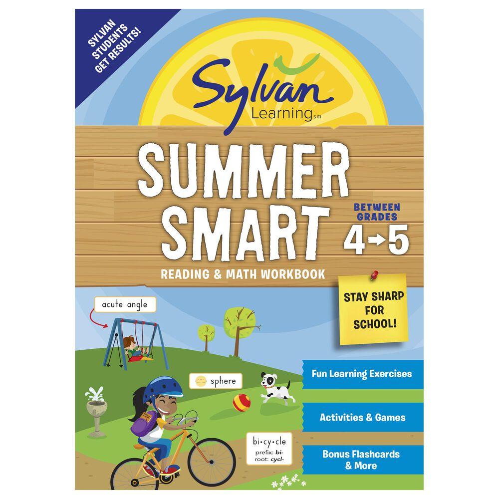 Sylvan Summer Smart Workbook: Between Grades 4 & 5, , large