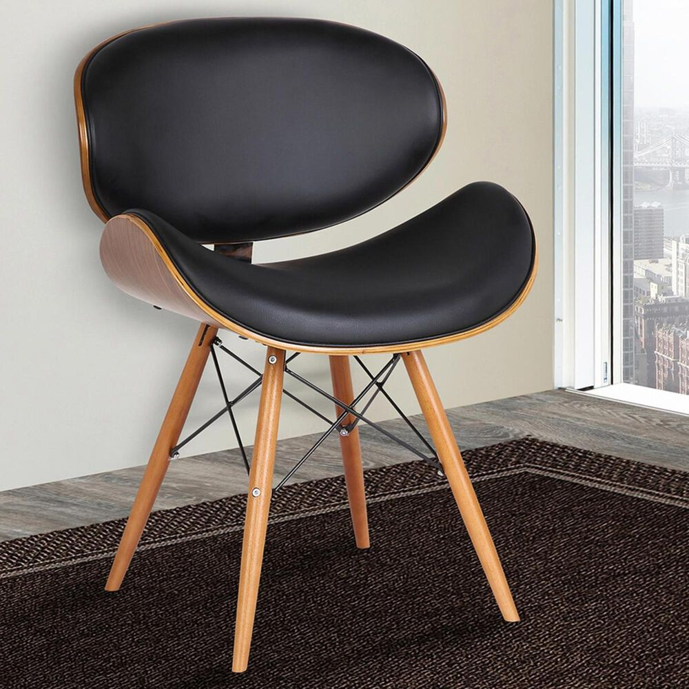 Blue River Cassie Dining Chair in Black and Walnut, , large