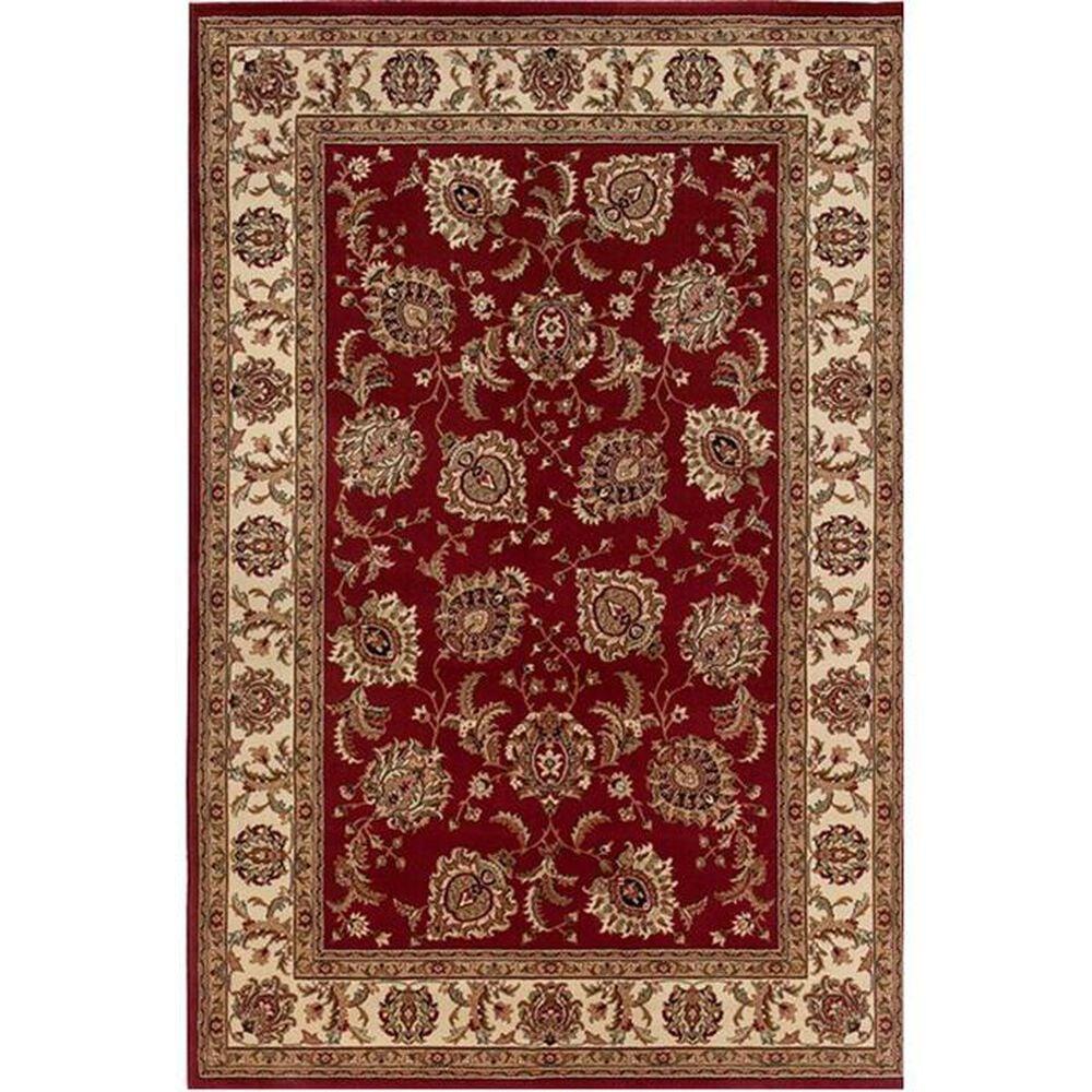 "Oriental Weavers Ariana 117C 7'10"" x 11' Red Area Rug, , large"