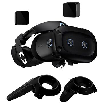 Vive Cosmos Elite Virtual Reality Headset for Compatible Windows PCs in Black, , large