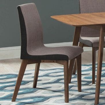 Pacific Landing Alfredo Redbridge Dining Chair in Natural Walnut, , large