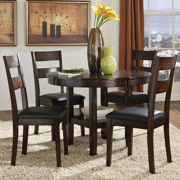 at HOME Pendwood 5-Piece Round Top Dining Set, , large