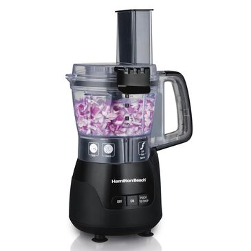 Hamilton Beach Stack and Snap Compact Food Processor, , large