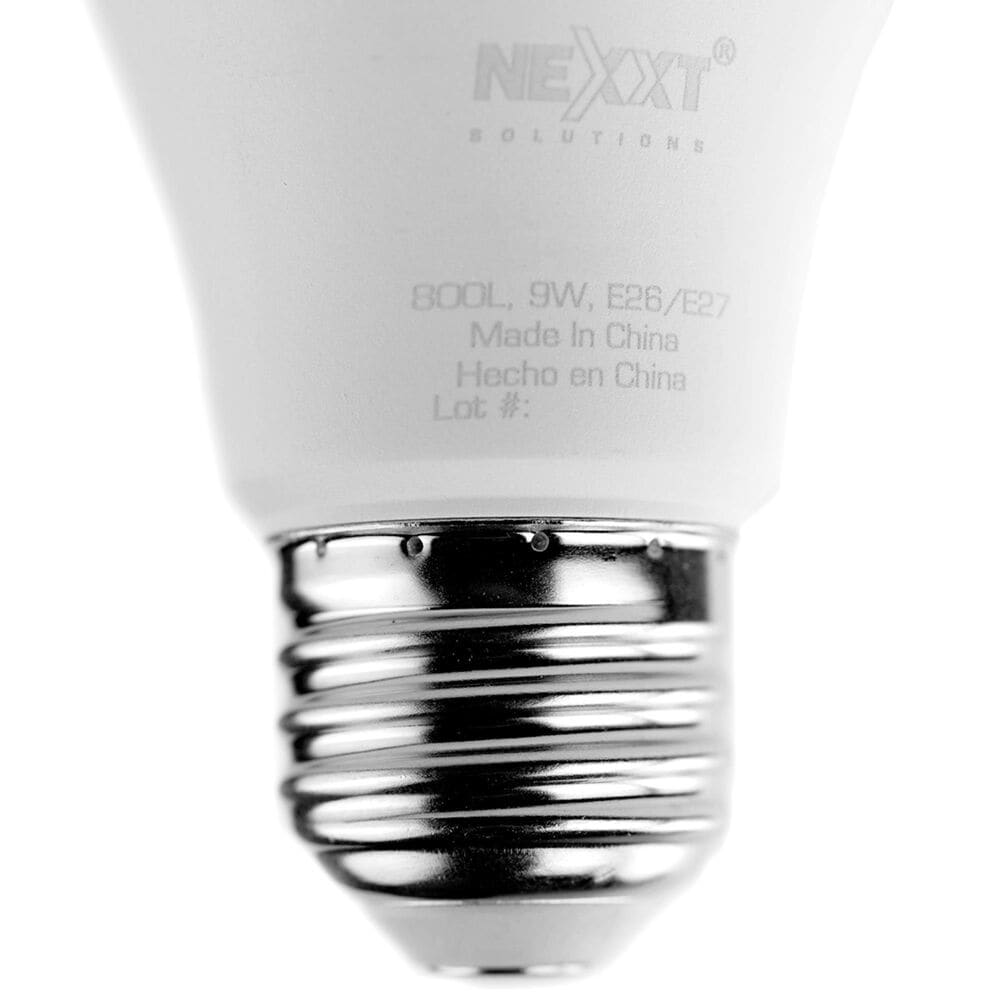 Nexxt 2-Pack Smart A19 Wifi Light Bulb in White, , large