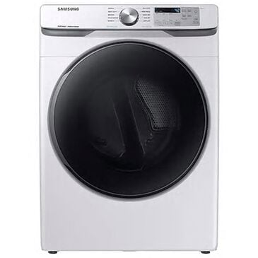Samsung 7.5 cu. ft. Electric Dryer with Steam Sanitize+ in White, , large