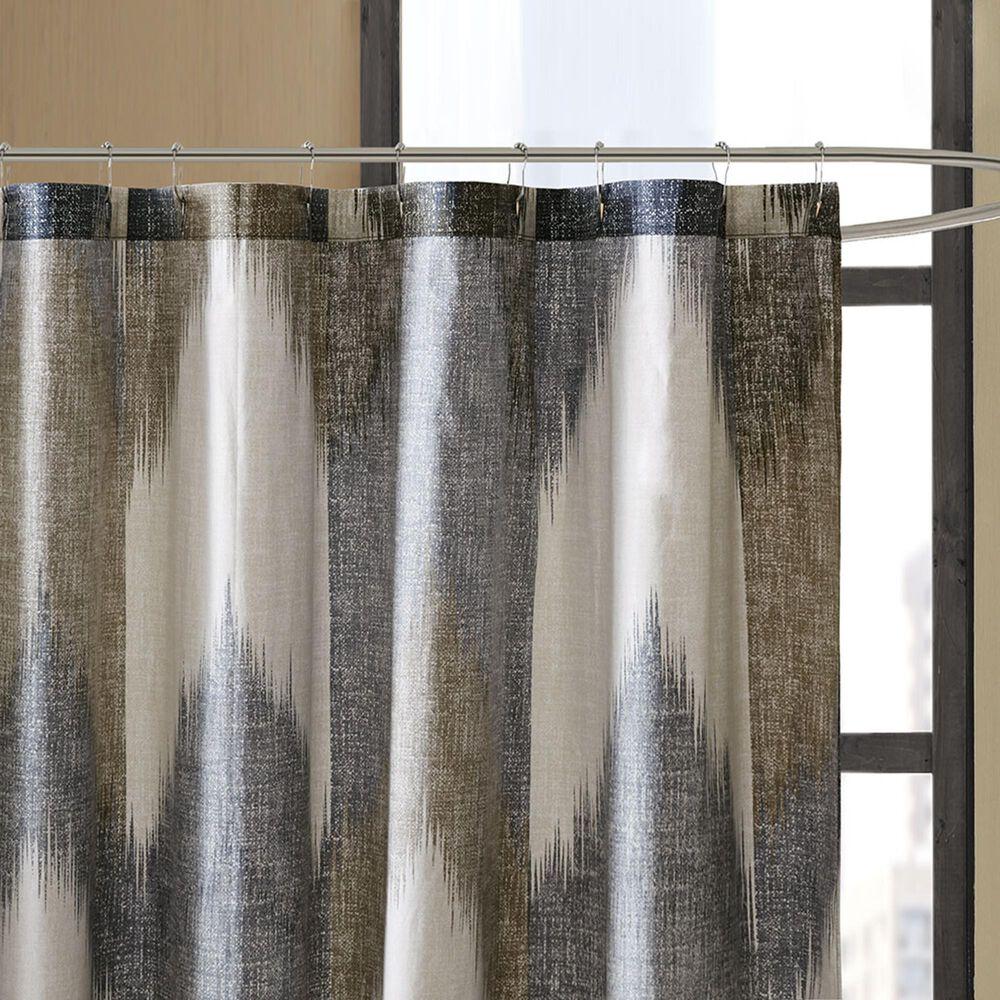 "Hampton Park Alpine 72"" Shower Curtain in Navy, , large"