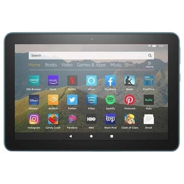 "Amazon Fire HD 8 Tablet 8"" 10th Generation 64GB in Twilight Blue | Wi-Fi, , large"