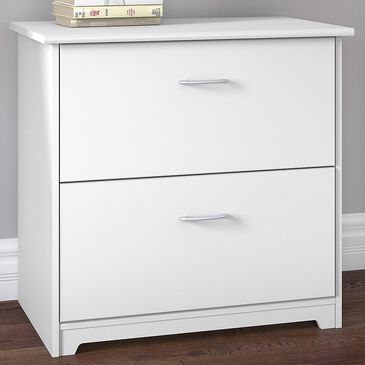 Bush Cabot 2-Drawer Lateral File in White, , large