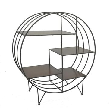 Three Hands Metal Rack with Shelves, , large