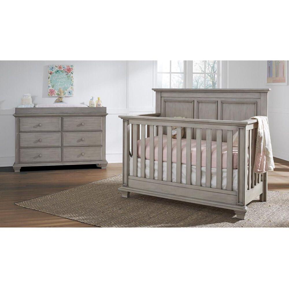 Oxford Baby Kenilworth 6 Drawer Dresser in Stone Wash, , large