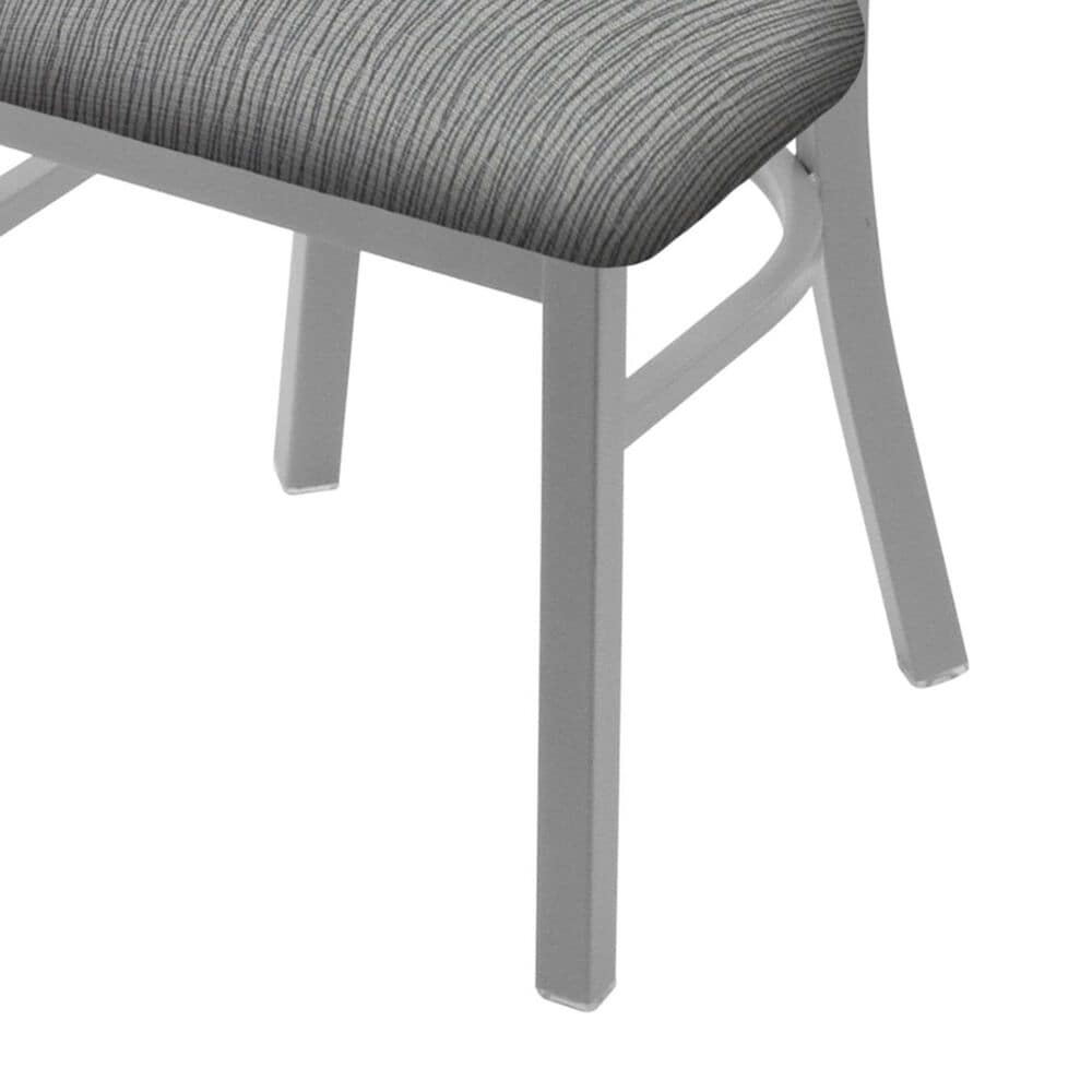 """Holland Bar Stool 620 Catalina 18"""" Chair with Anodized Nickel and Graph Alpine Seat, , large"""