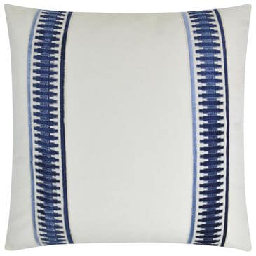 """D.V.Kap Inc 24"""" Feather Down Decorative Throw Pillow in Antibes-Blue, , large"""