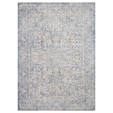 """Loloi Pandora PAN-01 2' x 3'4"""" Blue and Gold Scatter Rug, , large"""