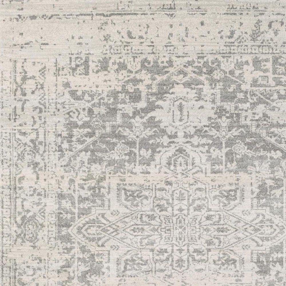 "Surya Harput HAP-1024 2'7"" x 12"" Charcoal, Light Gray and Beige Runner, , large"