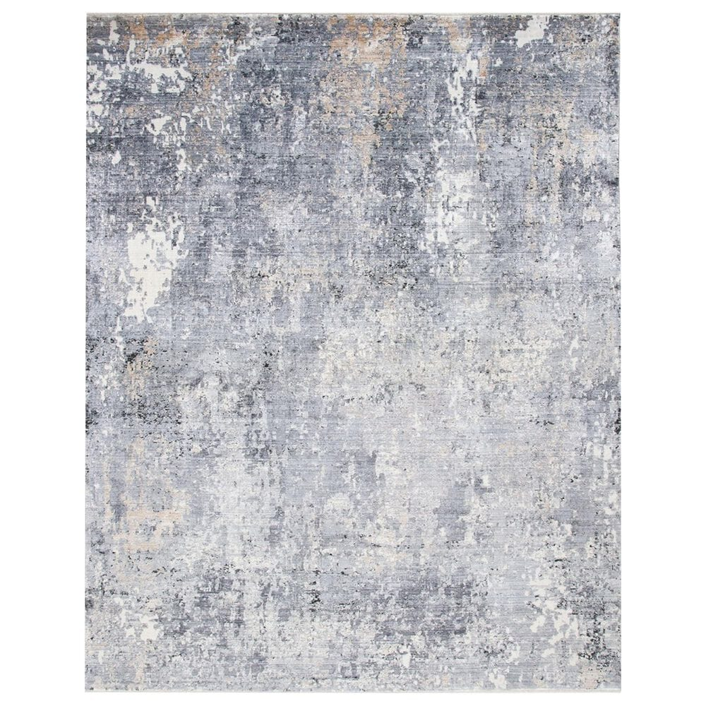Safavieh Eclipse ECL128 3' x 10' Grey and Cream Runner, , large