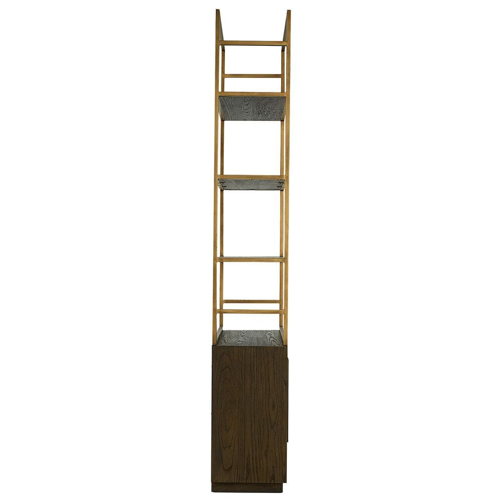 Moe's Home Collection Elliot Bookshelf in Brown, , large