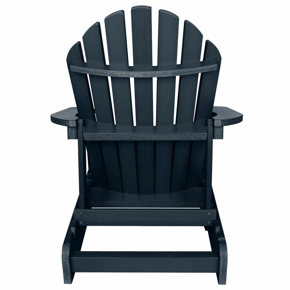 Highwood USA Hamilton Folding Adirondack Chair in Federal Blue, , large
