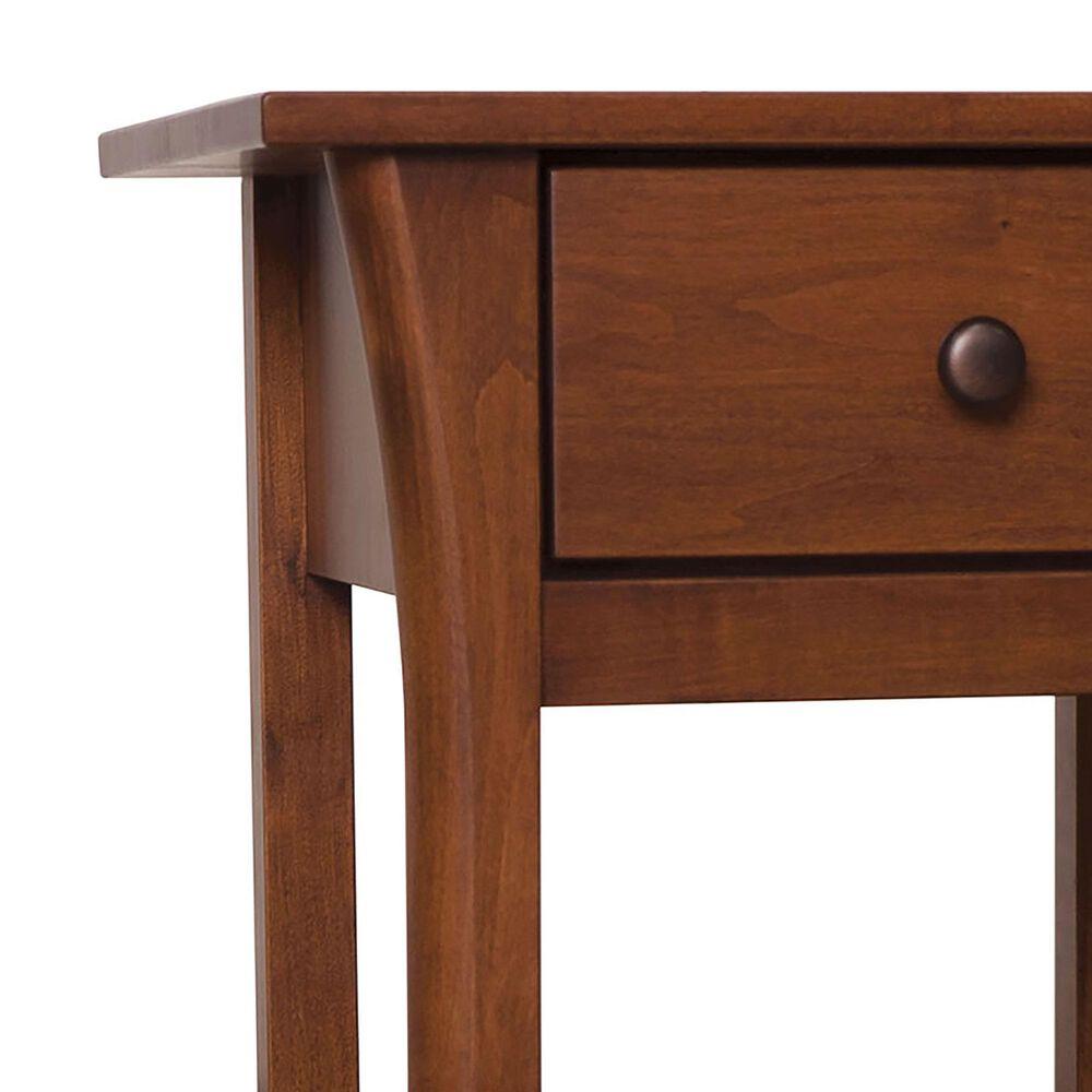 Furniture of America Barton 1 Drawer Nightstand in Dark Cherry, , large