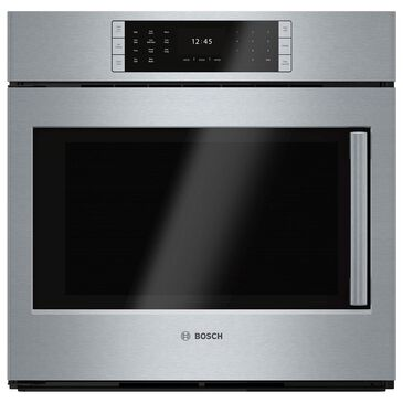 "Bosch 30"" Single Wall Oven with Left Side Opening Door in Stainless Steel, , large"