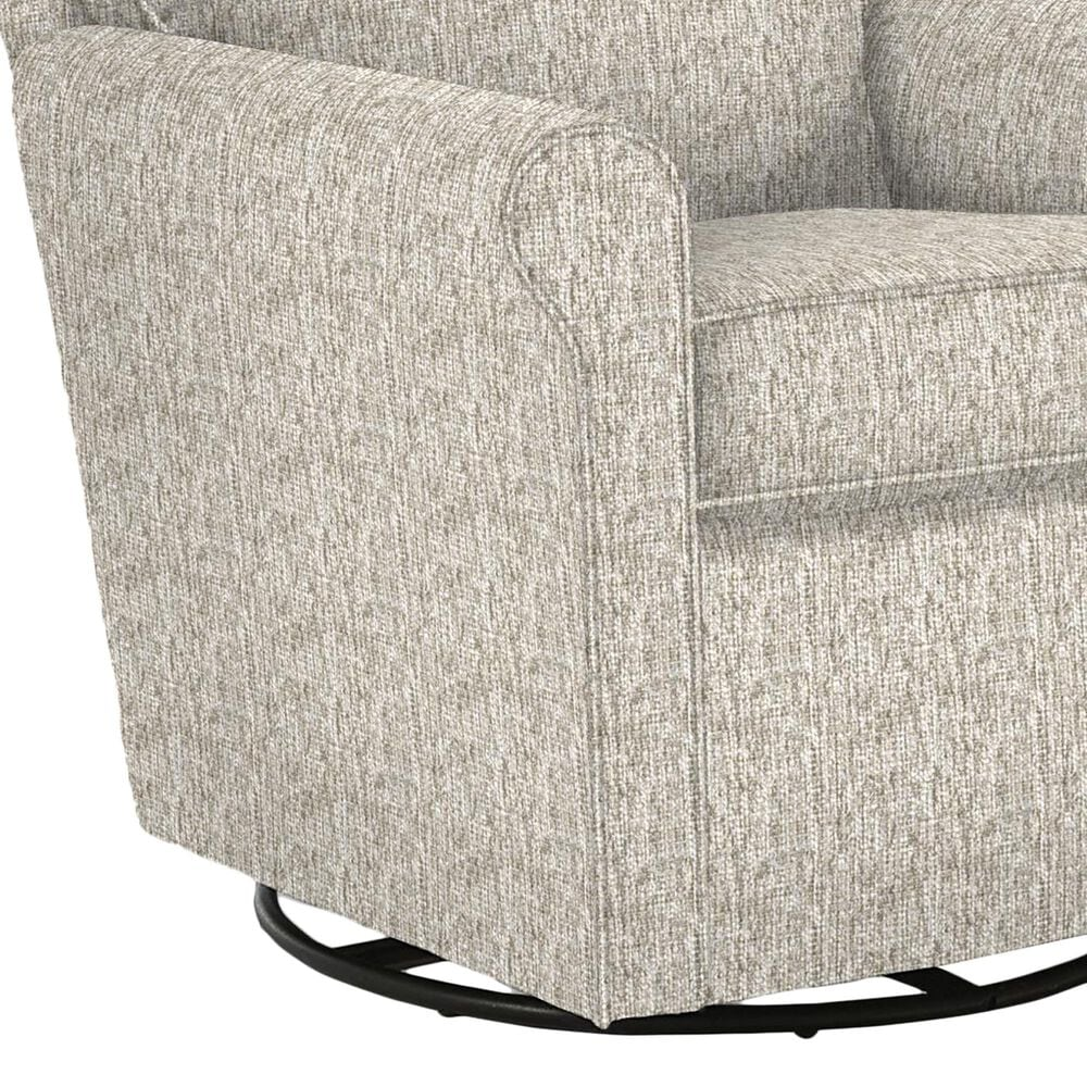 Best Home Furnishings Kacey Swivel Glider Chair in Pashmina, , large