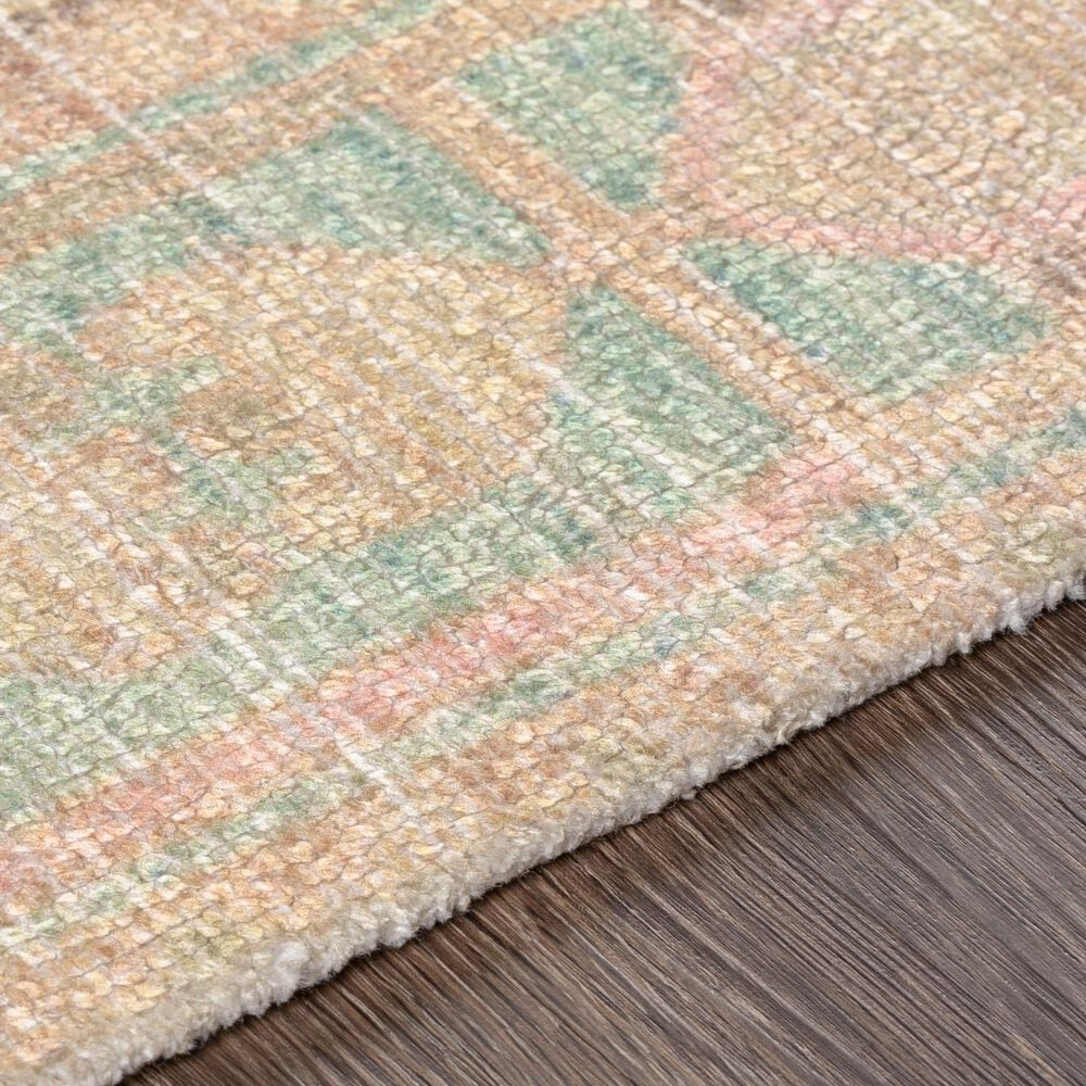 """Surya Unique UNQ-2305 8'6"""" x 11'6"""" Pink, Lime, Charcoal and Green Area Rug, , large"""
