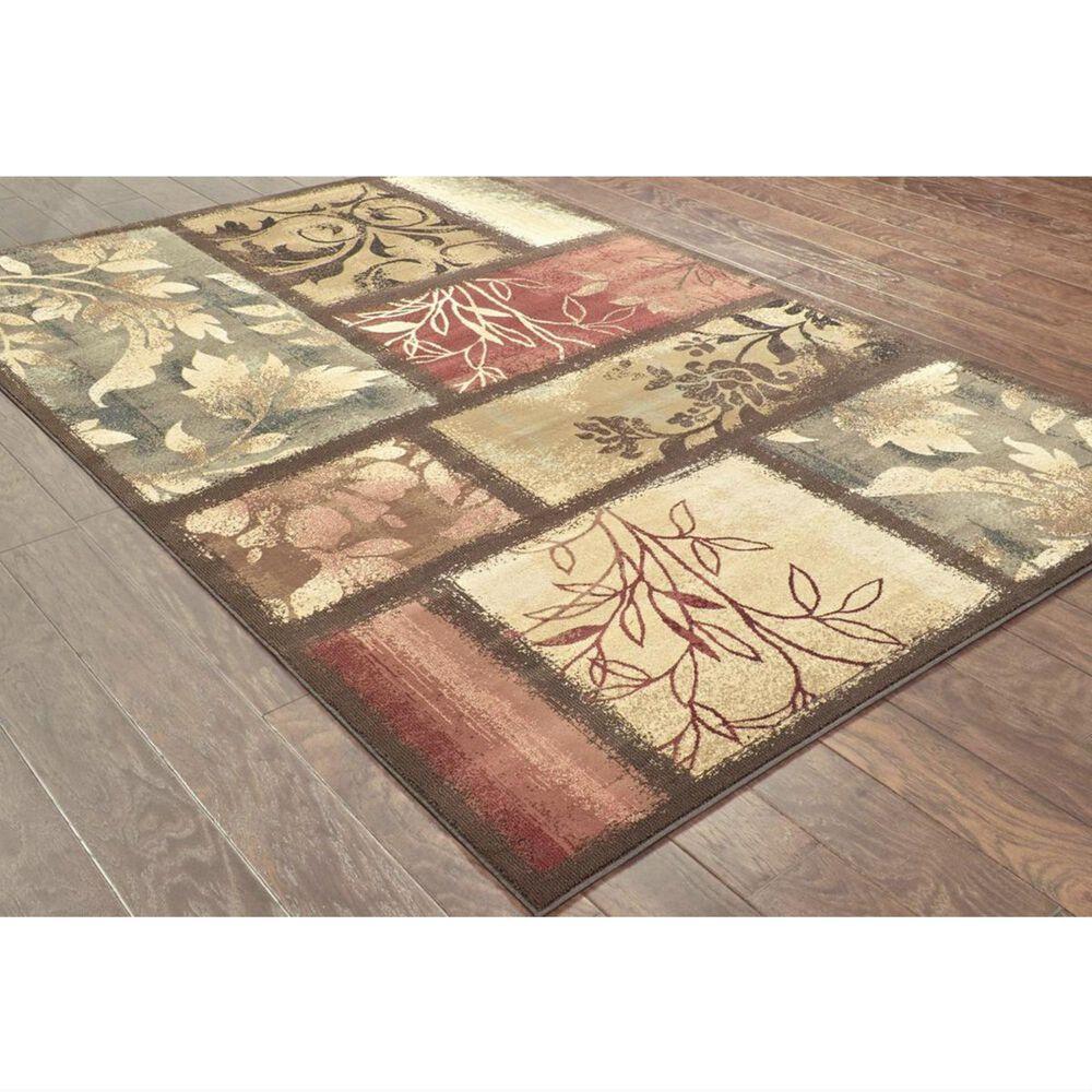 Oriental Weavers Hudson 1699G 10' x 13' Brown Area Rug, , large