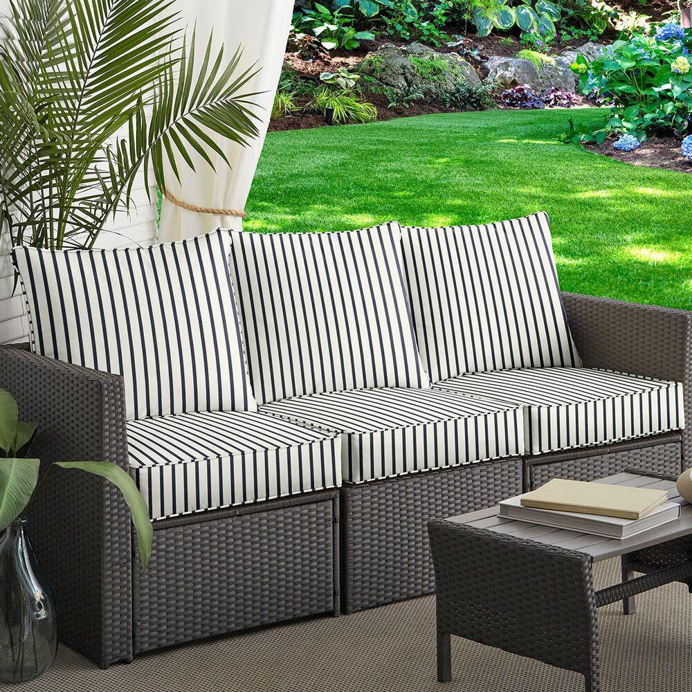 "Sorra Home Sunbrella 6-Piece 23"" x 25"" Deep Seating Cushion Set in Lido Indigo, , large"