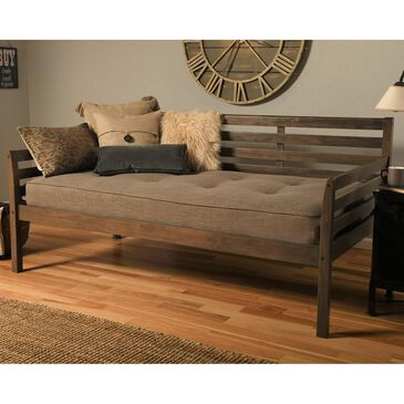 Kodiak Furniture Boho Daybed in Rustic Walnut, , large