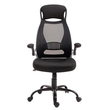 New Era Holding Group LTD Executive Desk Chair in Black Mesh, , large