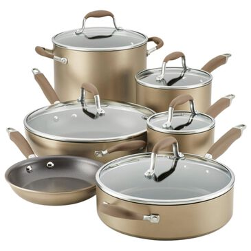 Anolon 11-Piece Cookware Set in Bronze, , large