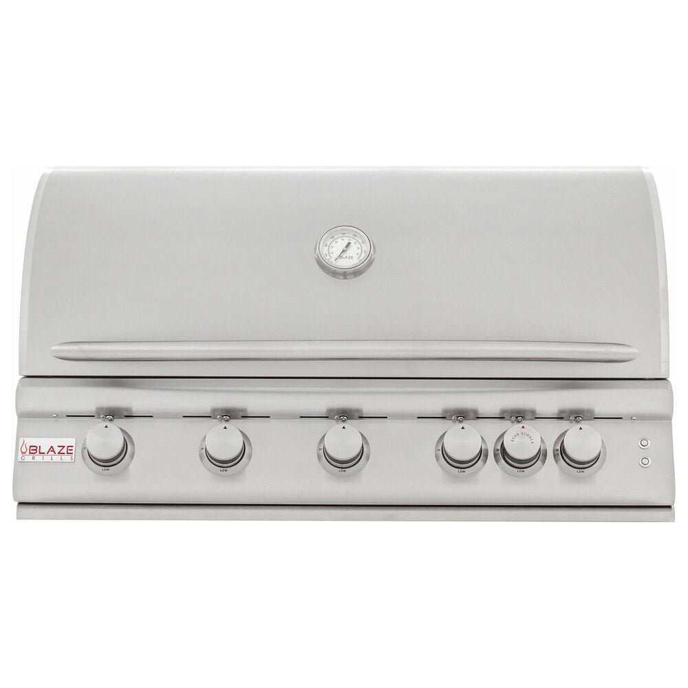"""Blaze 40"""" LTE Liquid Propane Grill with 5-Burner in Stainless Steel, , large"""