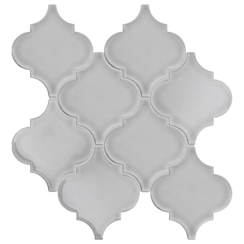 "Emser Morocco Silver 10"" x 11"" Ceramic Mosaic Sheet, , large"