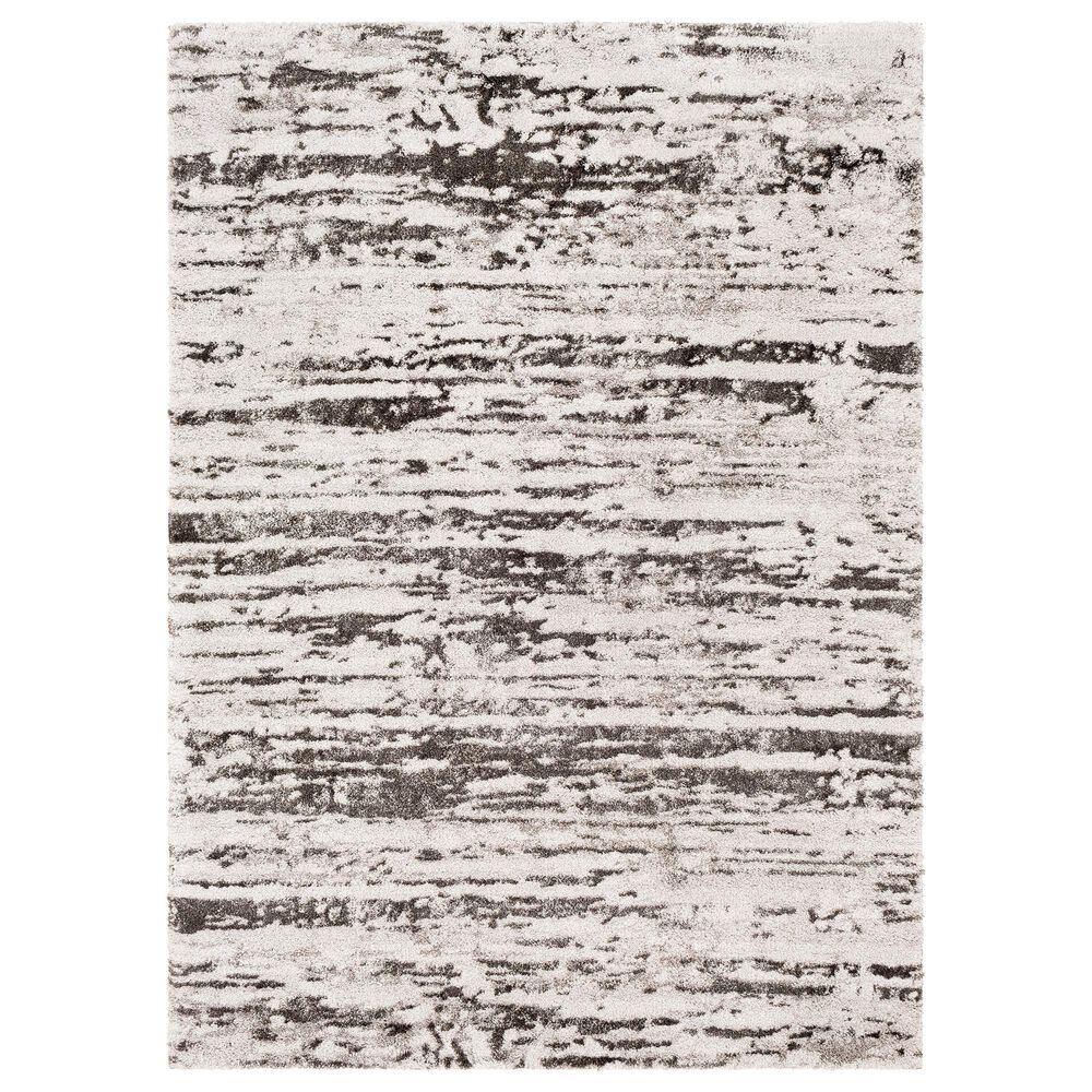 Surya Venice VNE-2301 2' x 3' Charcoal, Gray and Ivory Area Rug, , large