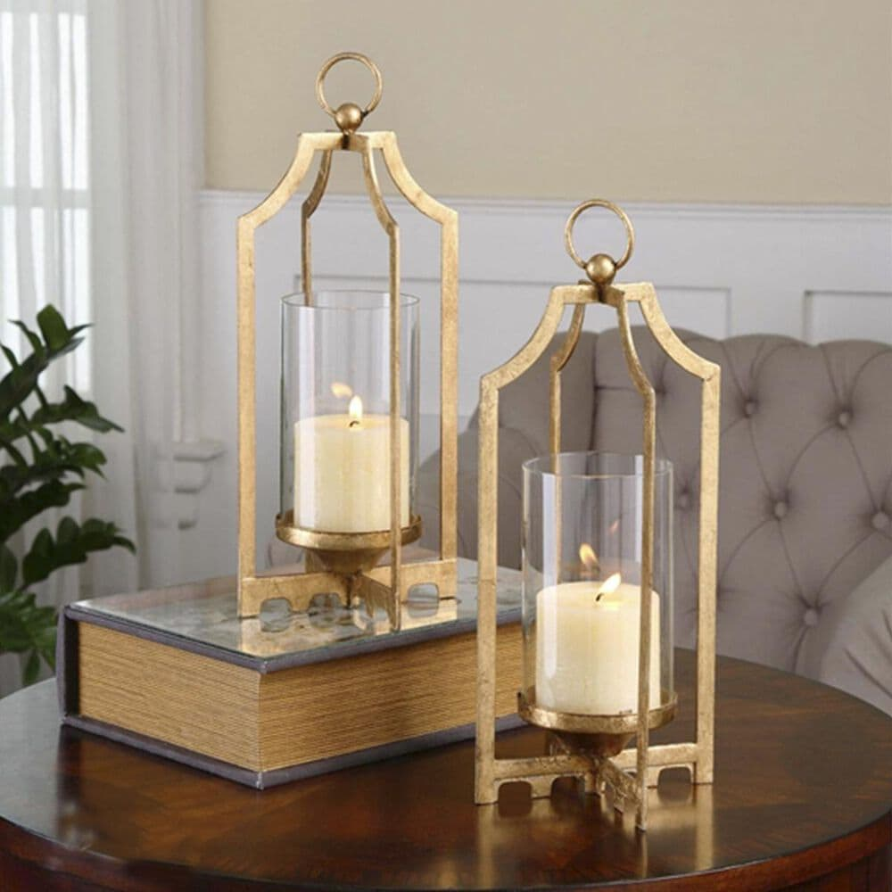Uttermost Lucy Gold Candleholders (Set of 2), , large