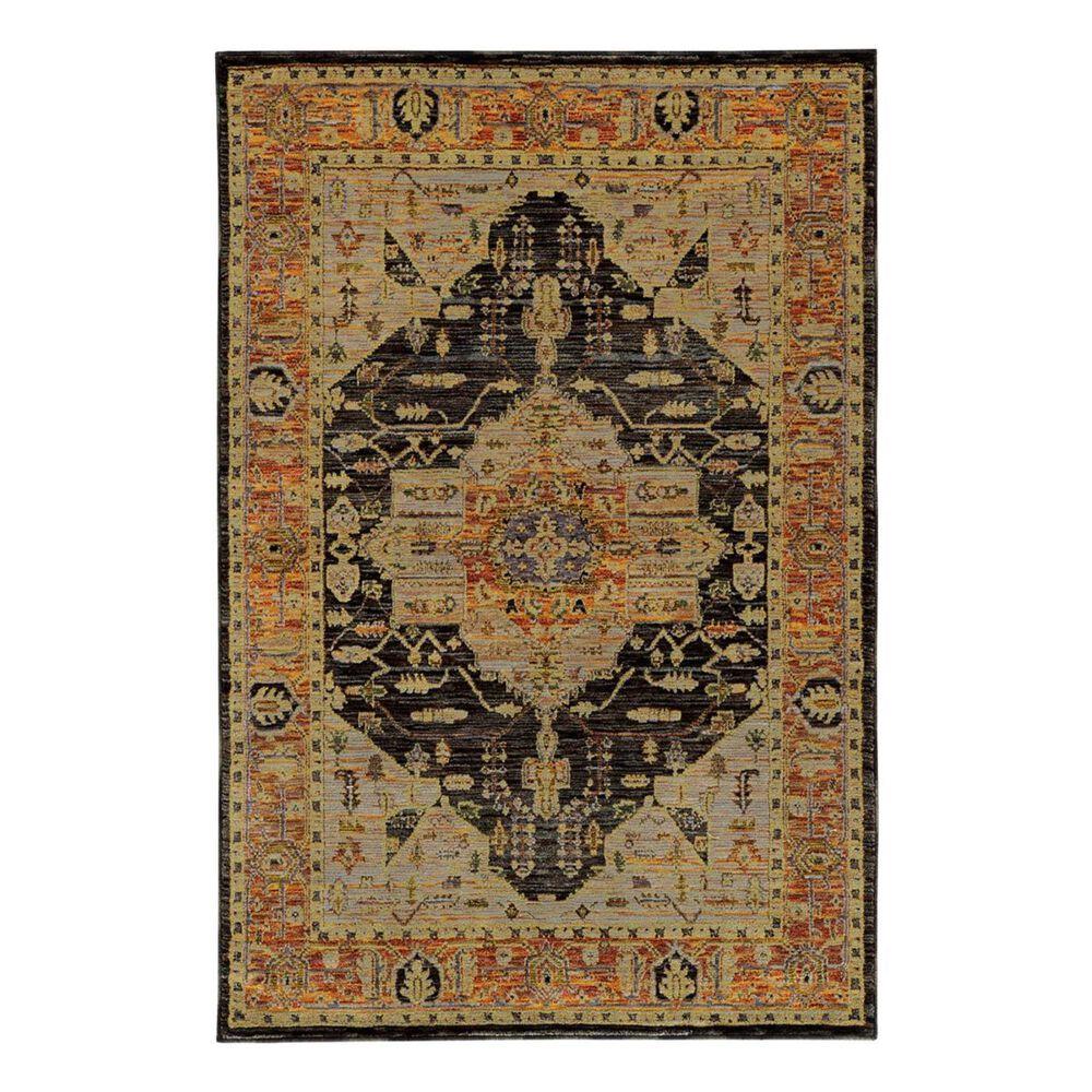 "Oriental Weavers Andorra 7138B 5'3"" x 7'3"" Gold Area Rug, , large"