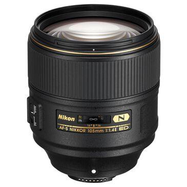 Nikon AF-S NIKKOR 105mm f/1.4E ED Lens, , large