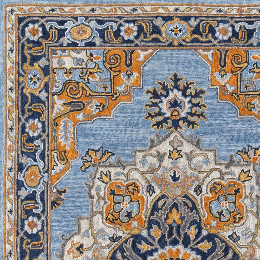 Momeni Ibiza IBI-01 8' x 10' Blue Area Rug, , large