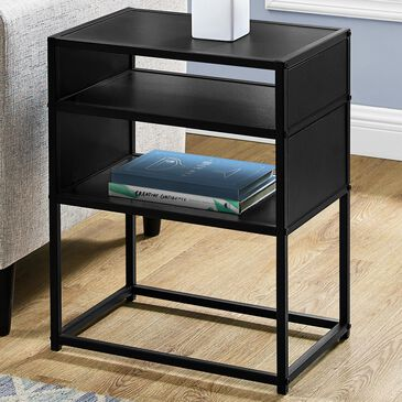 Monarch Specialties Accent Table in Black, , large
