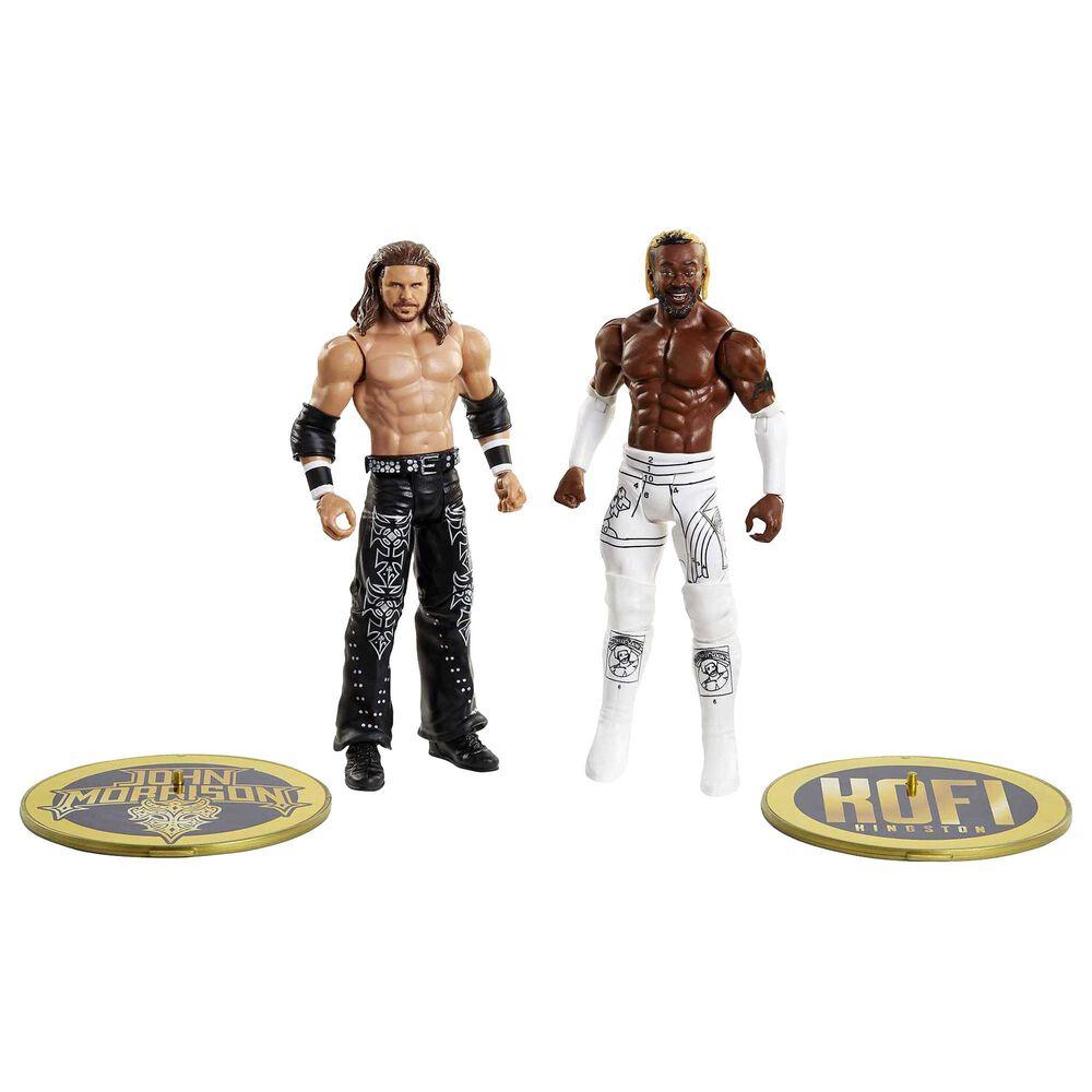 WWE Championship Showdown Kofi Kingston vs John Morrison Action Figures - 2-Pack, , large
