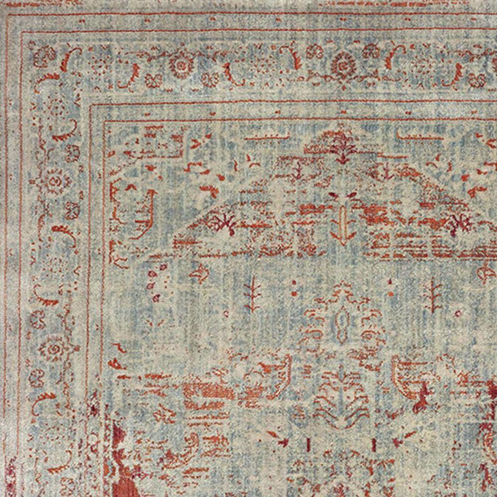 "Oriental Weavers Pandora 1501U 3'10"" x 5'5"" Grey and Orange Area Rug, , large"