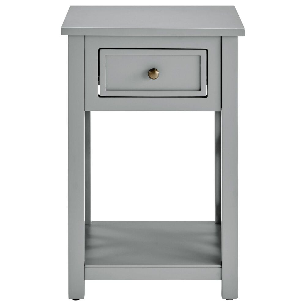 Bolton Furniture Coventry End Table in Gray, , large