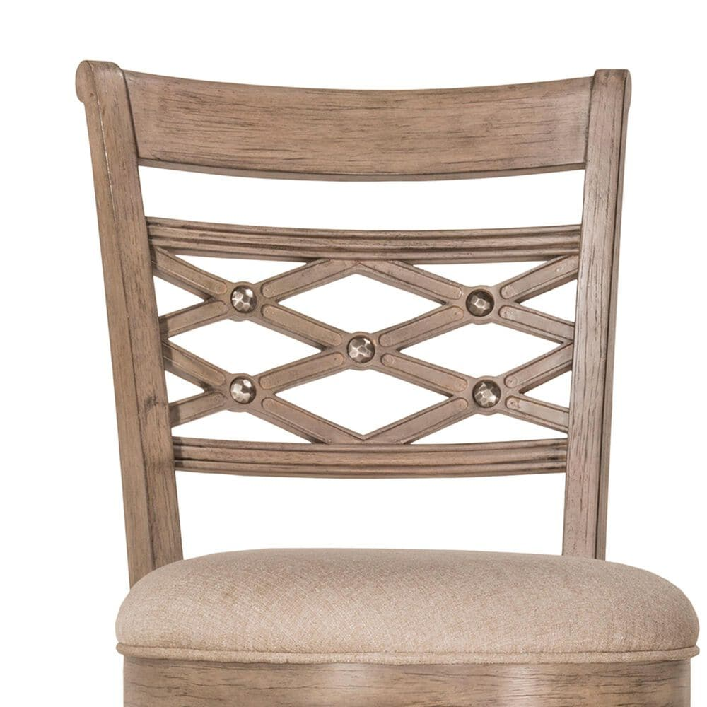 Richlands Furniture Chesney Swivel Counter Stool in Weathered Gray, , large