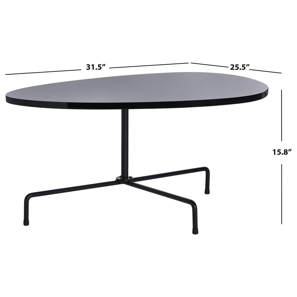 Safavieh Berlin Coffee Table in Black, , large