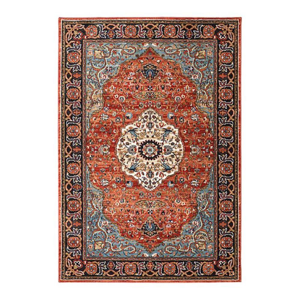 """Karastan Spice Market Petra 90661 5'3"""" x 7'10"""" Multicolor Area Rug, , large"""
