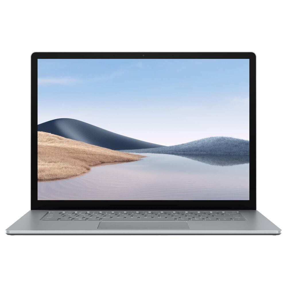 Microsoft Surface Laptop 4 15  i7 -16GB - 512GB Solid State Drive (Latest Model) - Platinum, , large