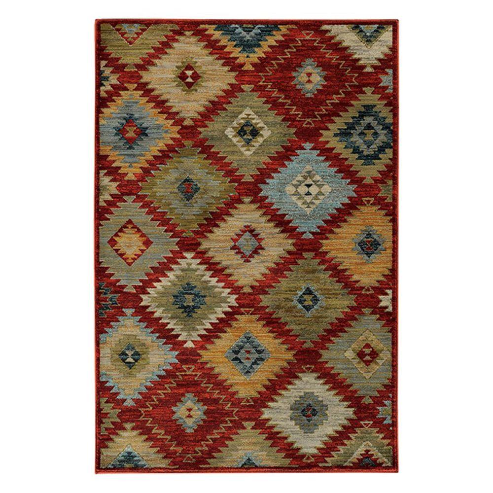 "Oriental Weavers Sedona 5936D 9'10"" x 12'10"" Red Area Rug, , large"