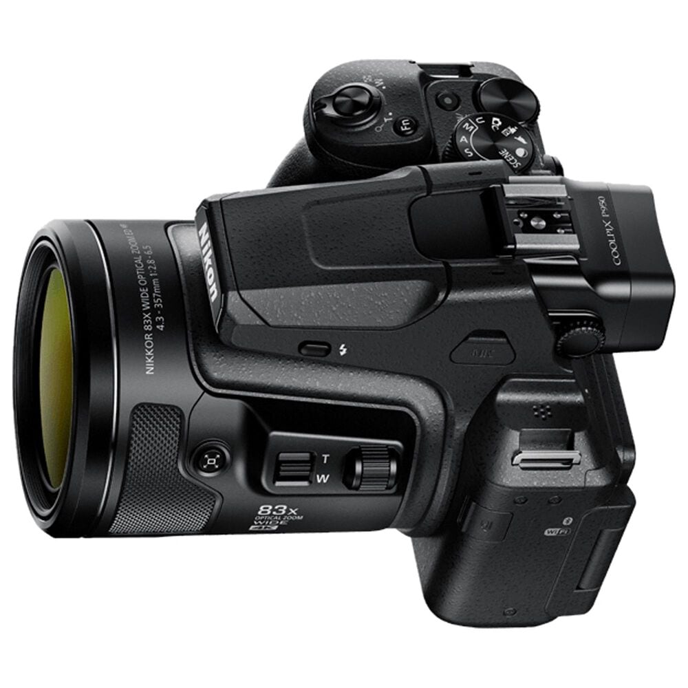 Nikon Coolpix P950 Compact Digital Camera in Black, , large