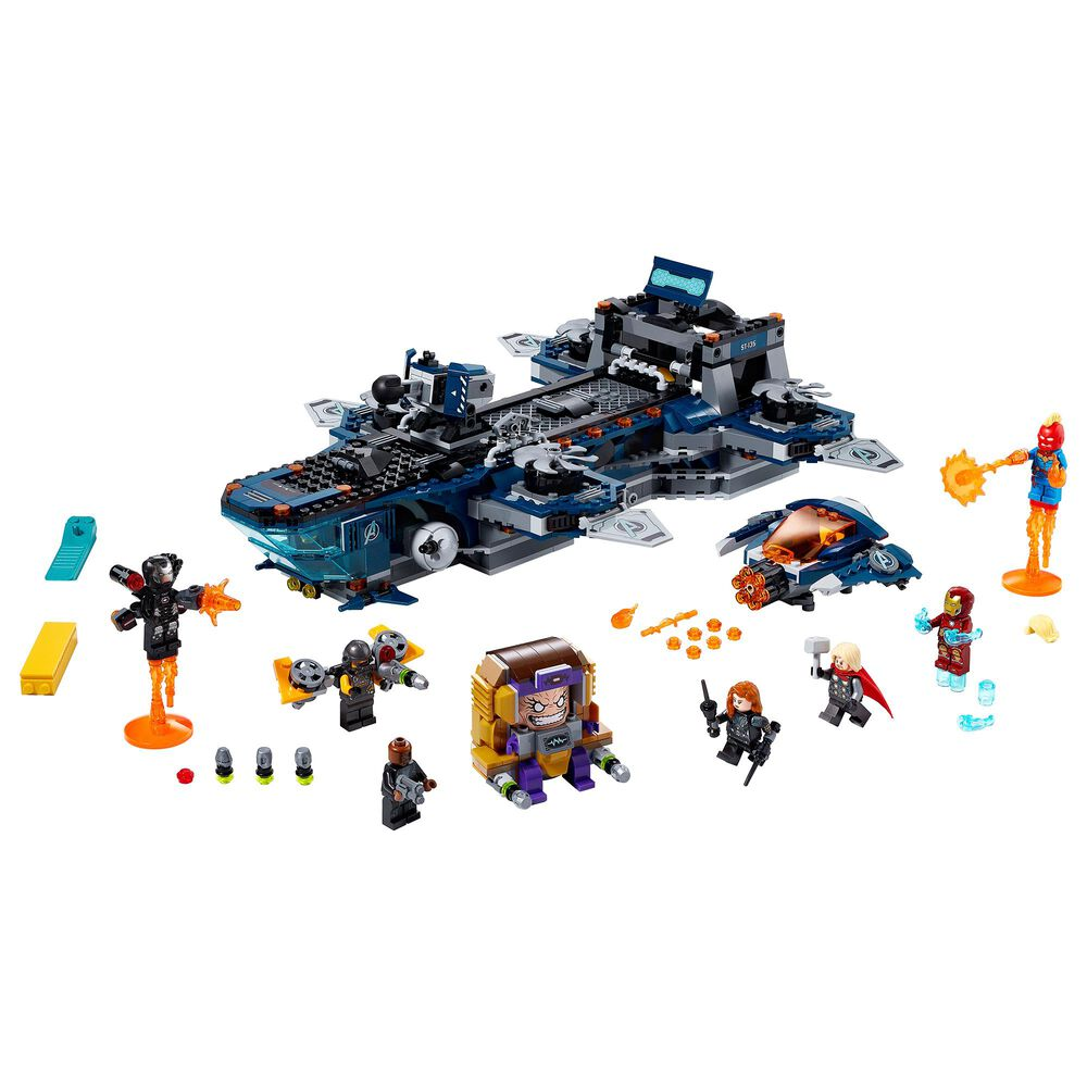 LEGO Marvel Avengers Helicarrier Building Set, , large