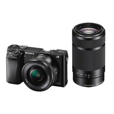 Sony Alpha A6000 Mirrorless Camera with 16-50mm and 55-210mm Lenses, , large